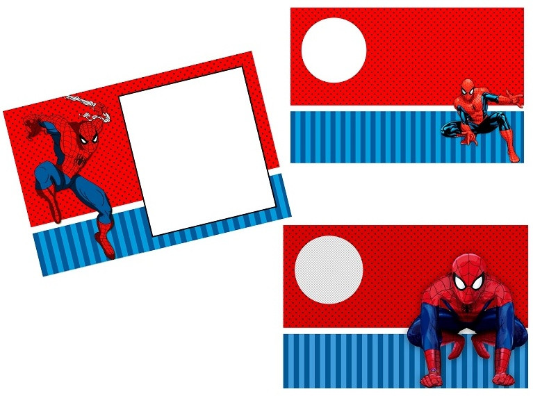 spiderman party free printable