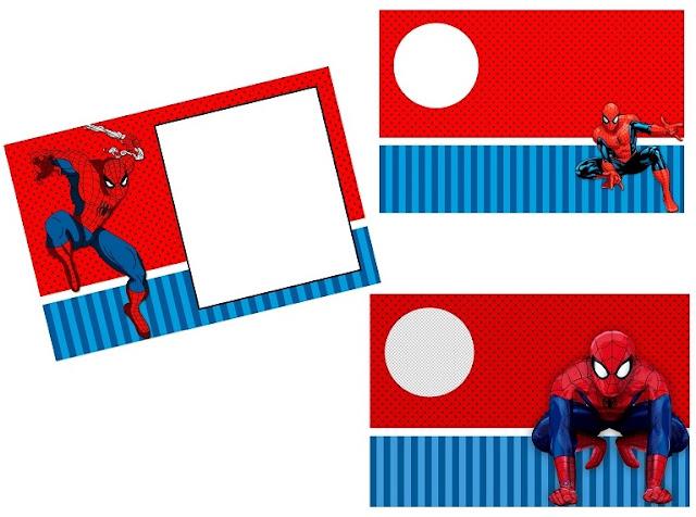 Fiesta de Spiderman: Invitaciones para Imprimir Gratis.