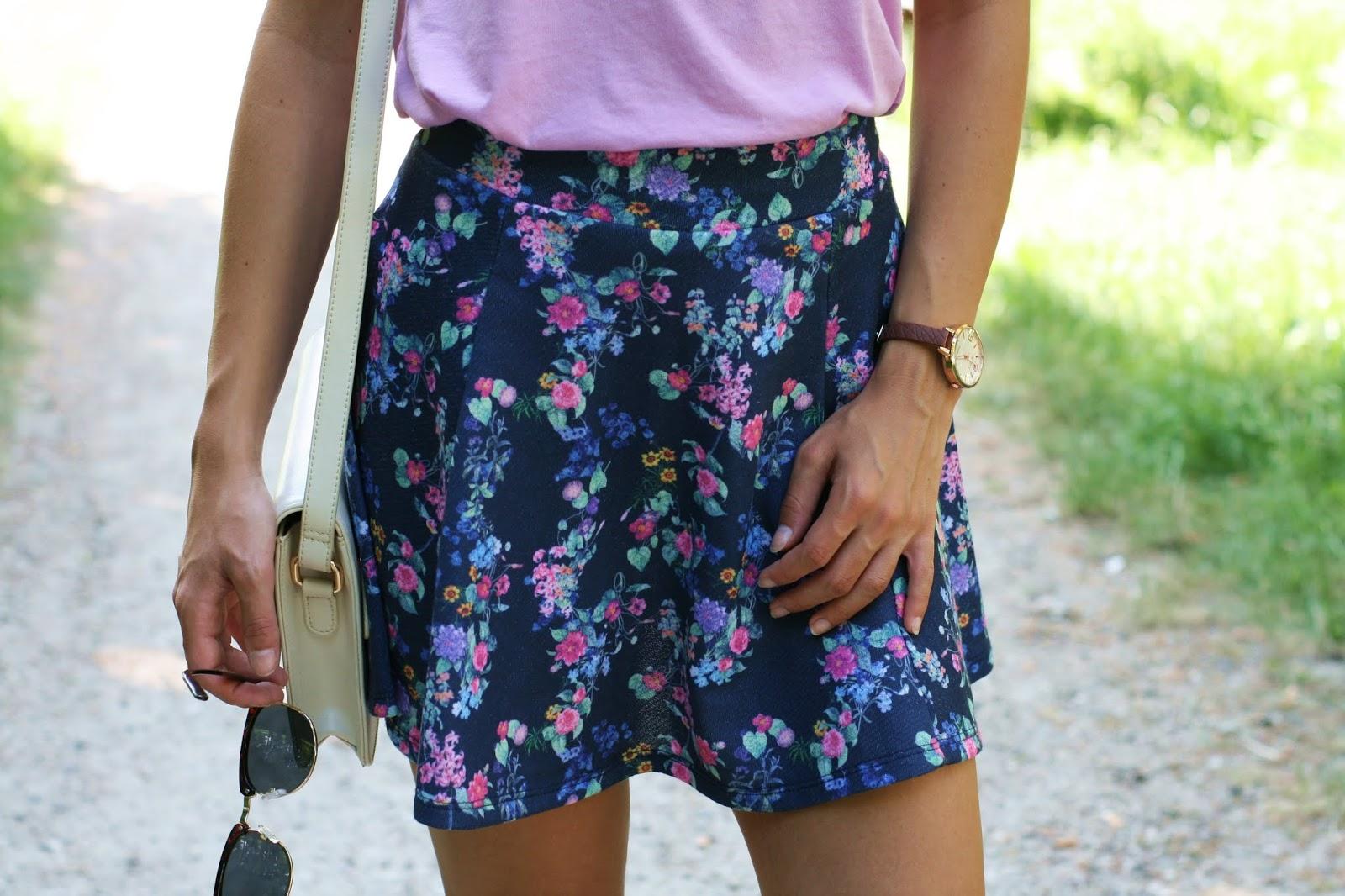 Spring in the city and skirt mood | Strój dnia z ulubioną spódnicą