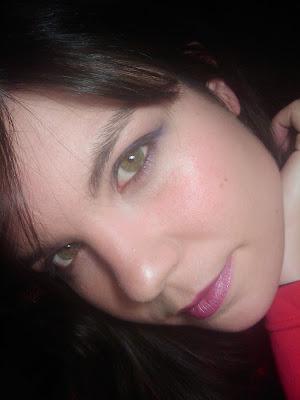 maquillaje lila