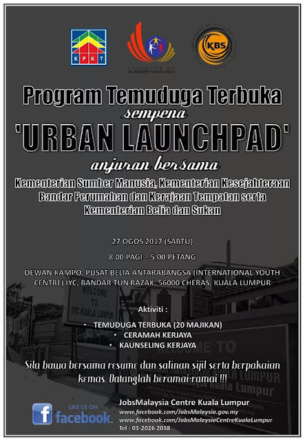 Karnival Pekerjaan JobsMalaysia Urban Launchpad For Youth