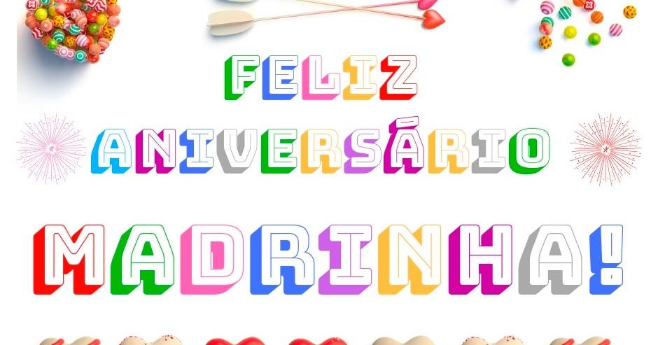 Feliz Aniversario Madrinha: Feliz Aniversário Madrinha Linda