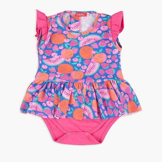 Vestidos para bebas moda primavera verano 2018.