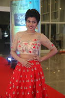 Mahima in beautiful Red Ghagra beigh transparent choli ~  Exclusive 018.JPG