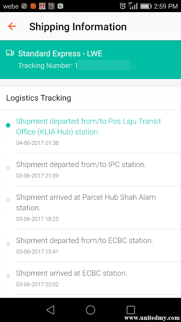 Logistic tracking