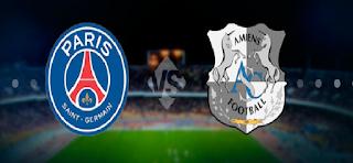 يلا شوت مشاهدة مباراة باريس سان جرمان وأميان اليوم السبت 5-8-2017