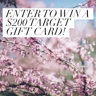 Enter the Target Gift Card Giveaway. Ends 4/30