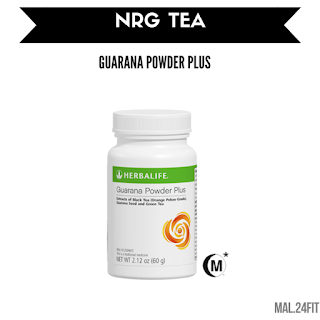 HERBALIFE GUARANA POWDER PLUS / NRG