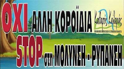 """Παρέμβαση - διαμαρτυρία της Κίνησης """"ΚΑΘΑΡΟΣ ΚΑΛΑΜΑΣ"""" στην ΒΙΠΕ Ιωαννίνων"""