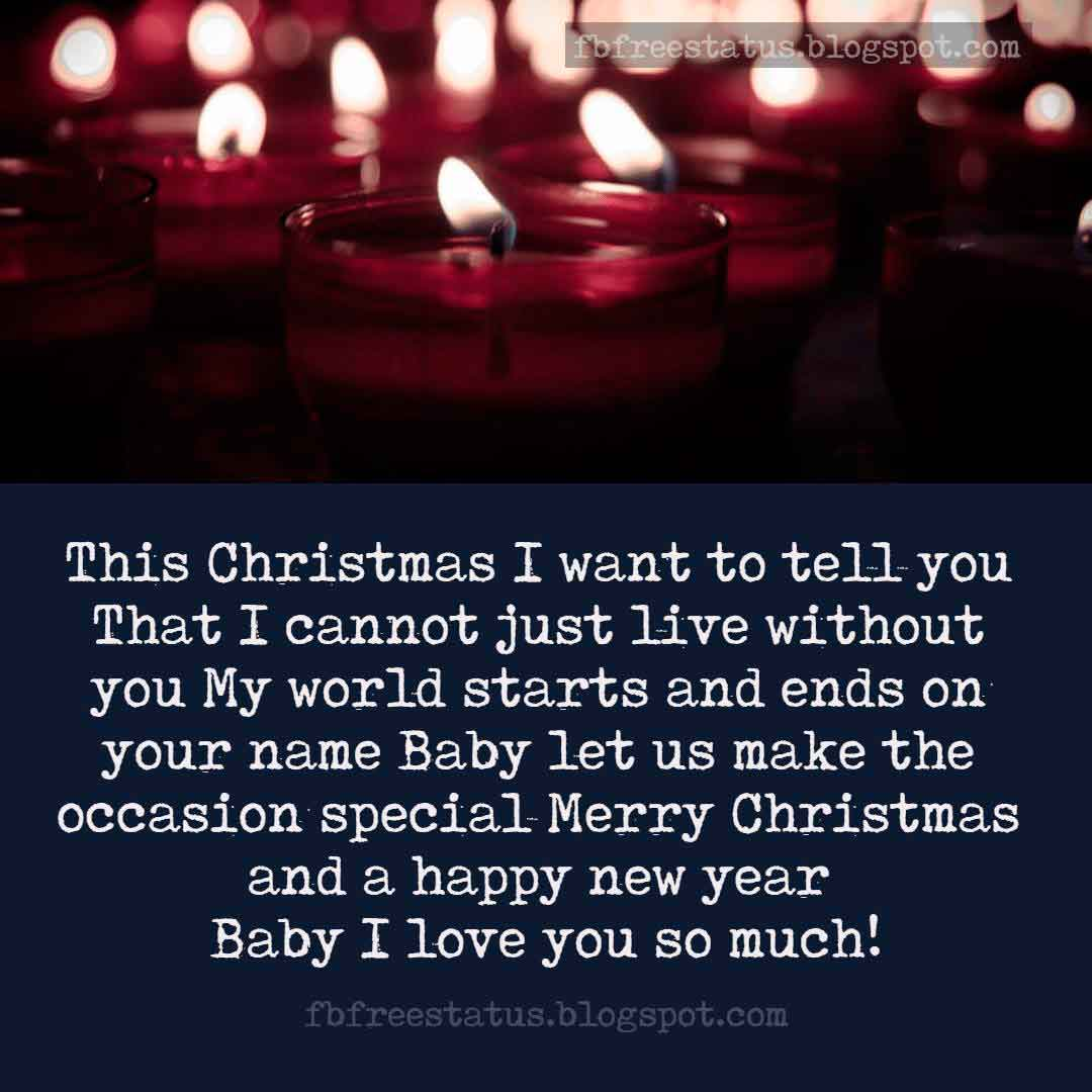 Christmas messages wishes for girlfriend