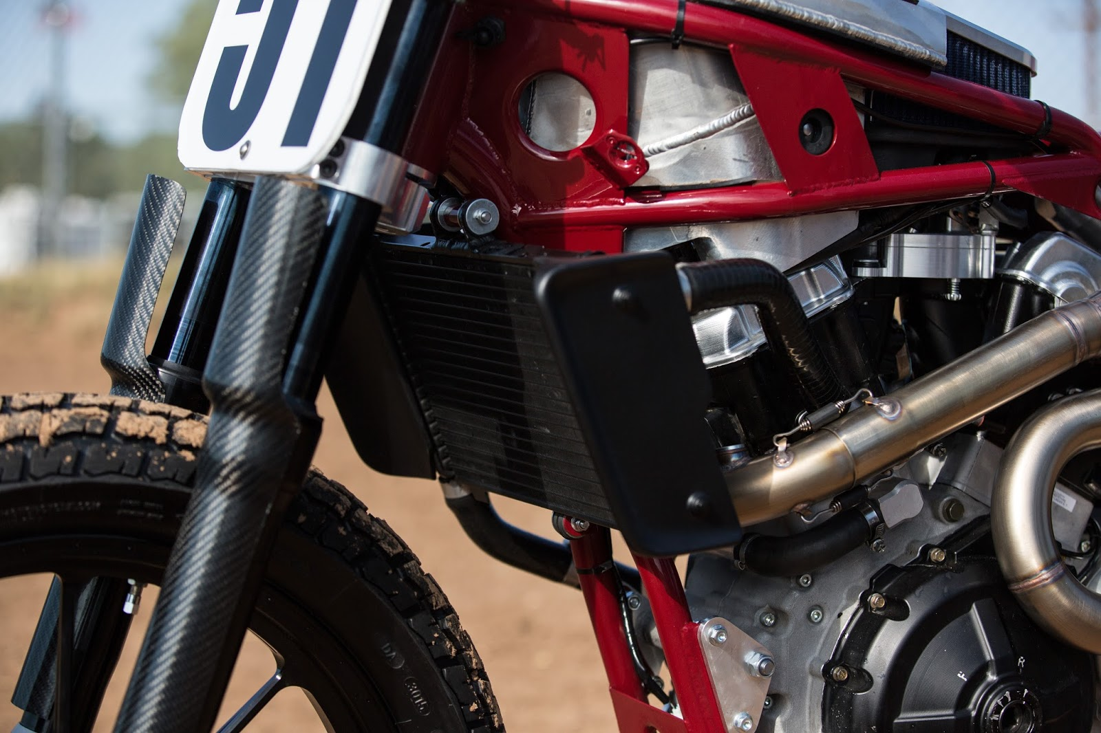Racing Caf    Indian    Scout    FTR 750 Dirt Track 2016