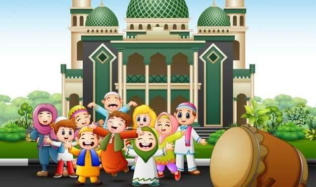 Gambar Masjid Kartun Anak Tk Nusagates