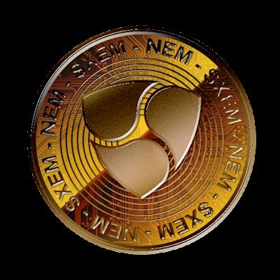 仮想通貨ネムのフリー素材(銅貨ver)