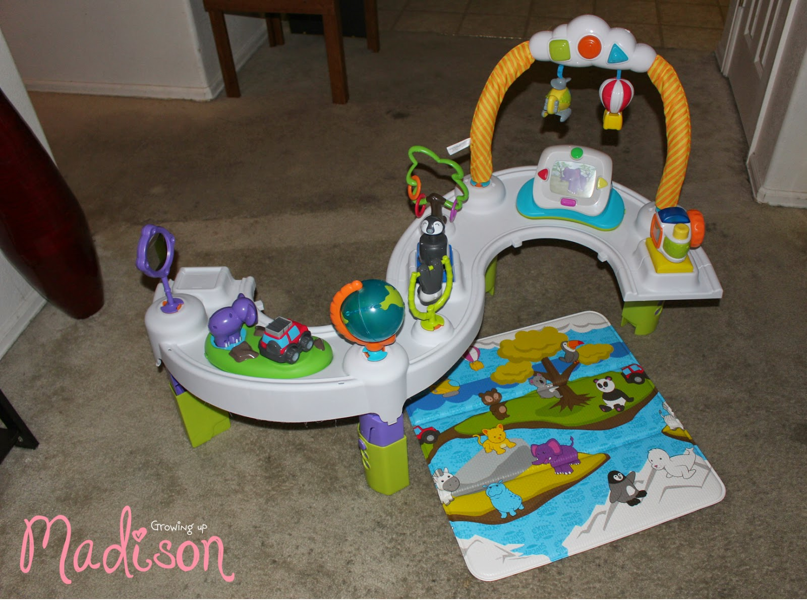 evenflo exersaucer instructions stage 3