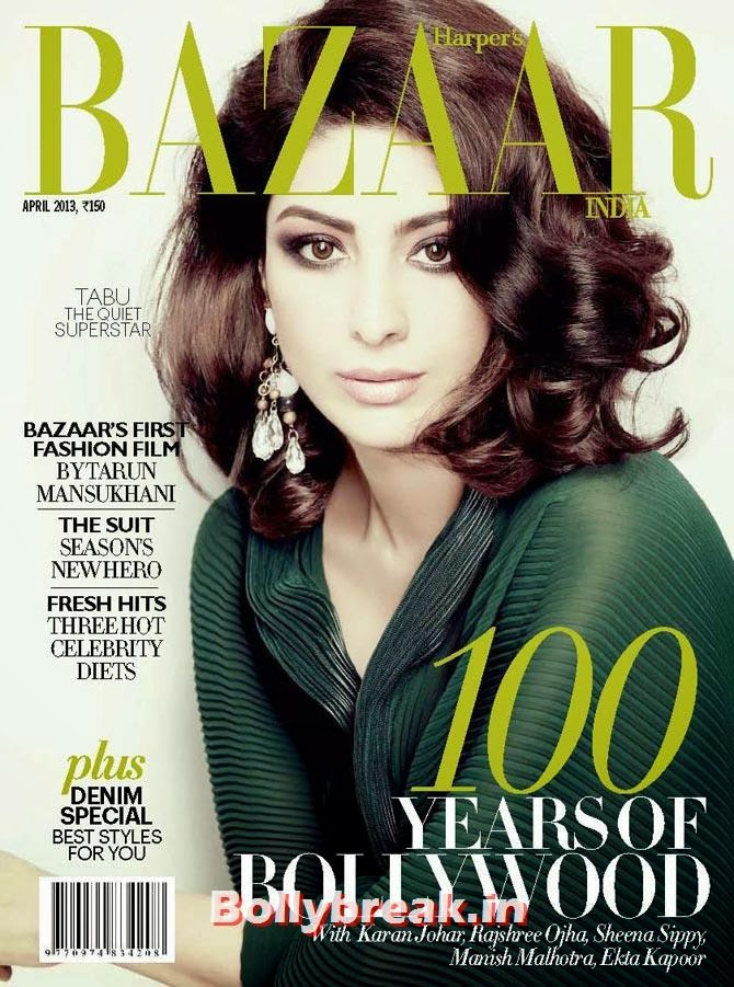 Tabu on Harper's Bazaar cover, The Hottest cover girls of 2013