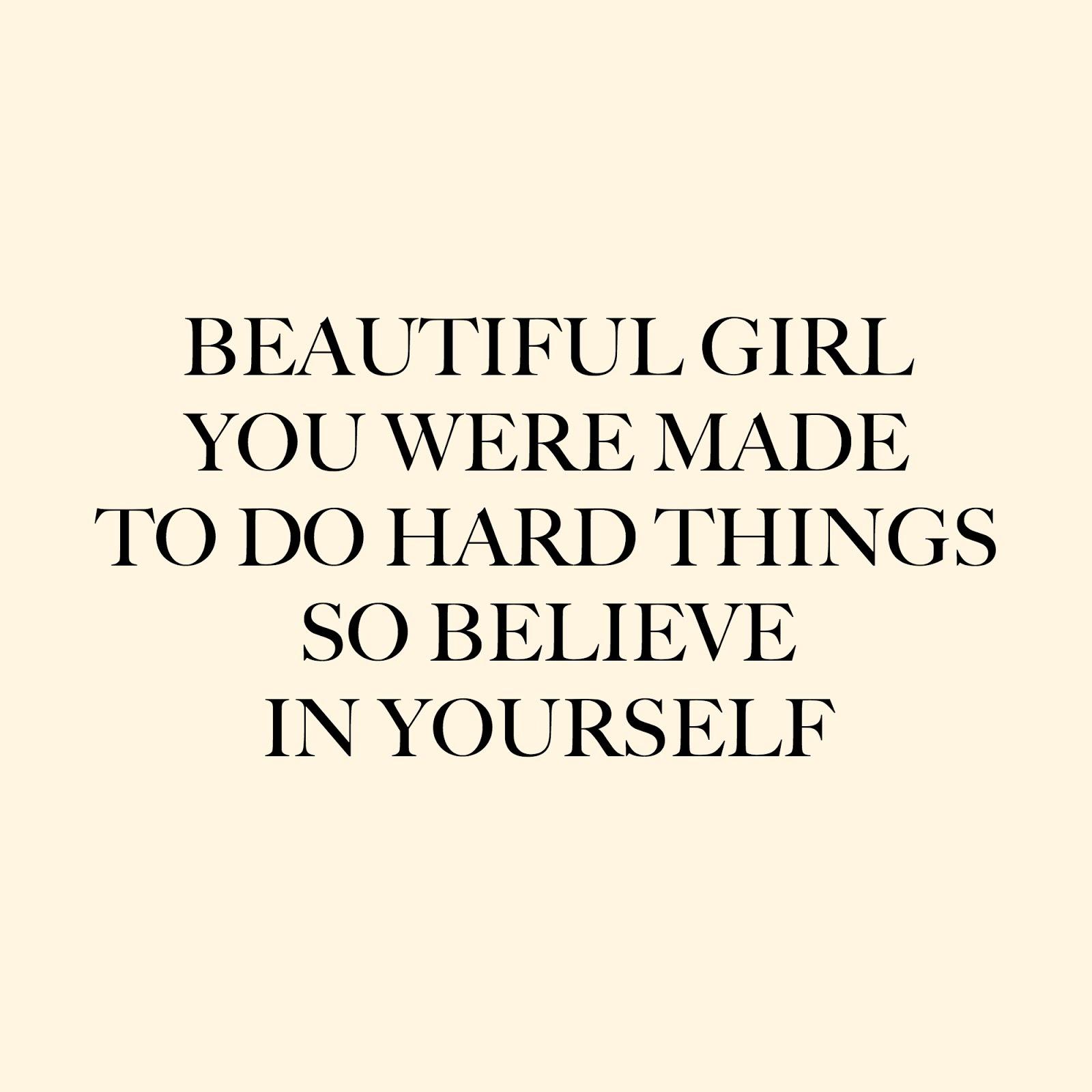 I Can Do Hard Things November 2016