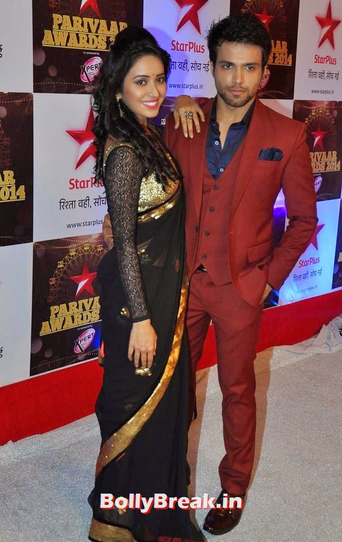 Asha Negi, Rithvik Dhanjani, Star Parivaar Awards 2014 Red Carpet Photo Gallery