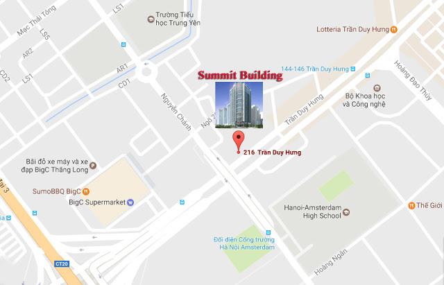 vị trí Summit Building