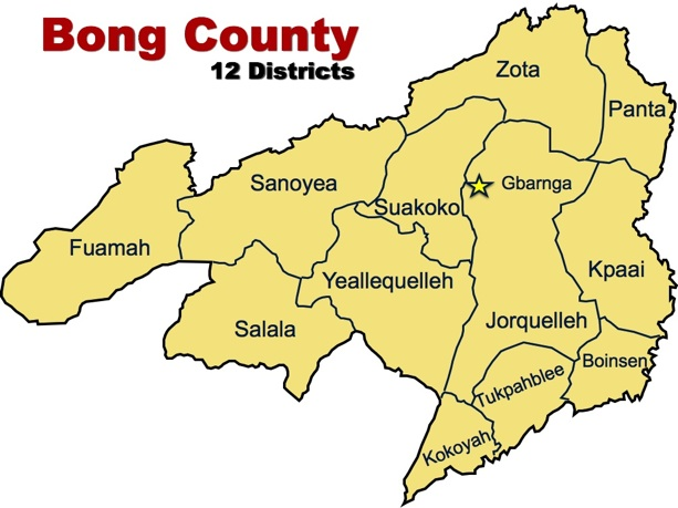 Image result for BONG COUNTY, LIBERIA