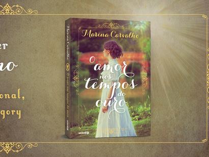 """Sessão de Autógrafos """"Amor nos tempos do ouro"""" de Marina Carvalho"""