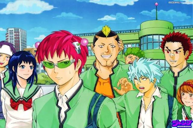 daftar anime mirip Saiki Kusuo paling seru dan terbaik