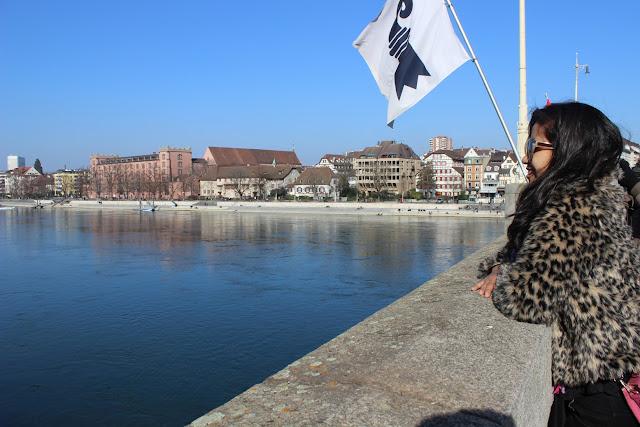 Rhein River Basel