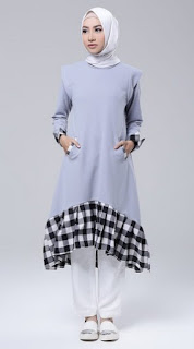 Kumpulan Gambar Baju Muslim Tunik Modern Terbaru 2017
