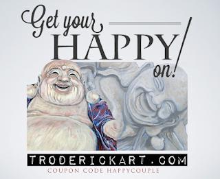 Coupon Code HAPPYCOUPLE www.troderickart.com