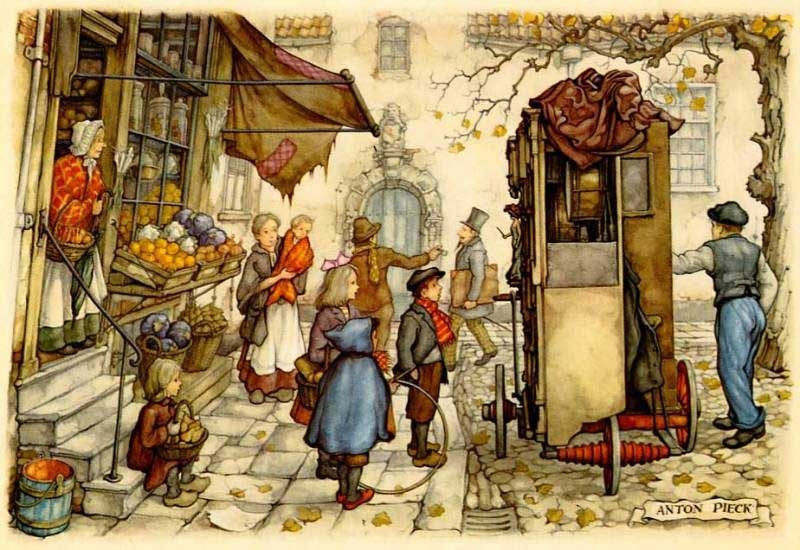08-Anton-Franciscus Pieck-1895-to-1987-a-life-of-Illustrations-and-Paintings-www-designstack-co