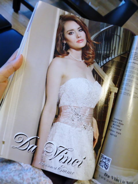 Brides Magazine: Da Vinci Wedding Gowns