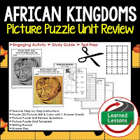 African Kingdoms, World History Test Prep, World History Test Review, World History Study Guide, World History Games, Ancient World History Bundle, Ancient World History Curriculum