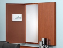 Folding White Board Cabinet