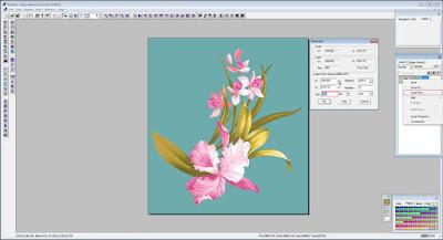 anseries design tracing pemisahan warna