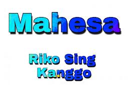 Kunci Gitar Mahesa Riko Sing Kanggo