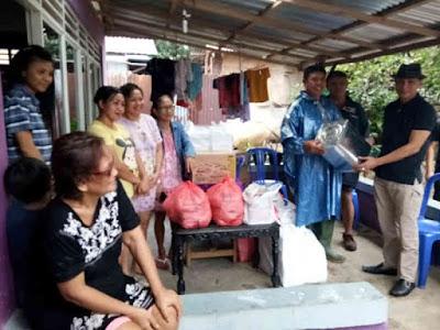 Pemprov Sulawesi Utara Bergerak Cepat Salurkan Bantuan ke Korban Bencana