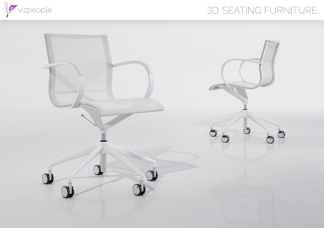 [3dmodelfree] Chair set 1