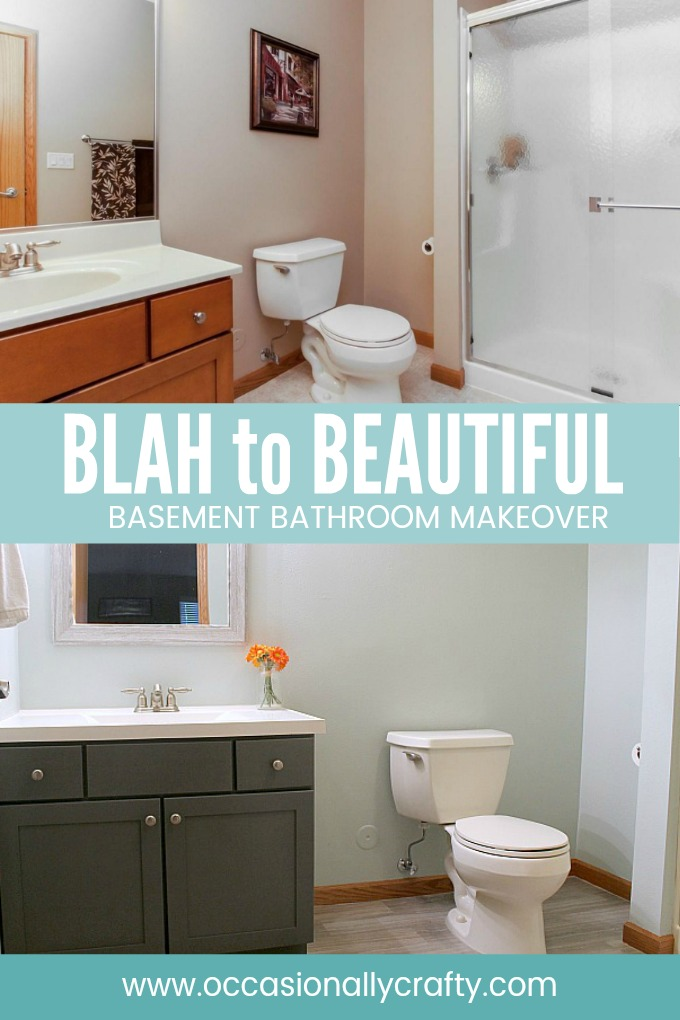 Basement Bathroom Makeover