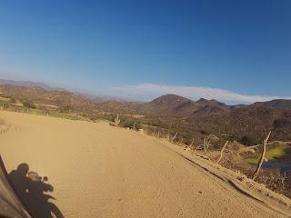 Bonita paisagem ao longe.