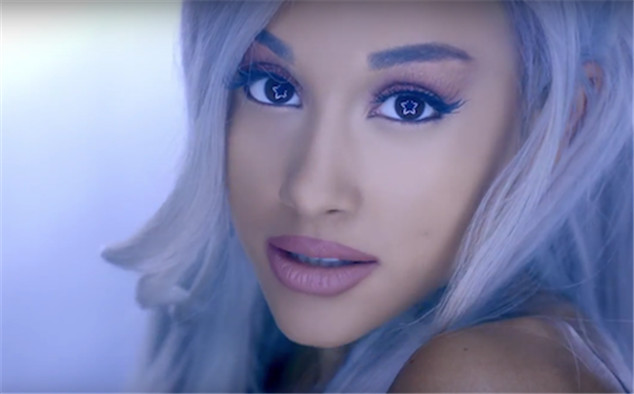 Ariana Grande her new music video focus