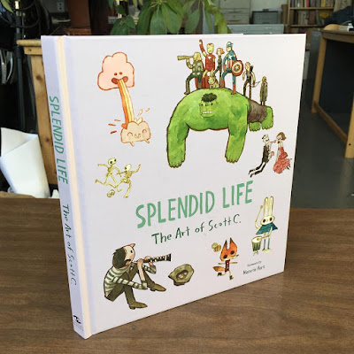 MondoCon 2017 Debut Splendid Life: The Art of Scott C. Hardcover Book