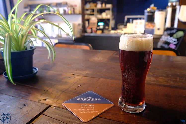 Le Chameau Bleu -  Red Ale - The brewers - Brasseurs de bière d'Hiraizumi - Tohoku