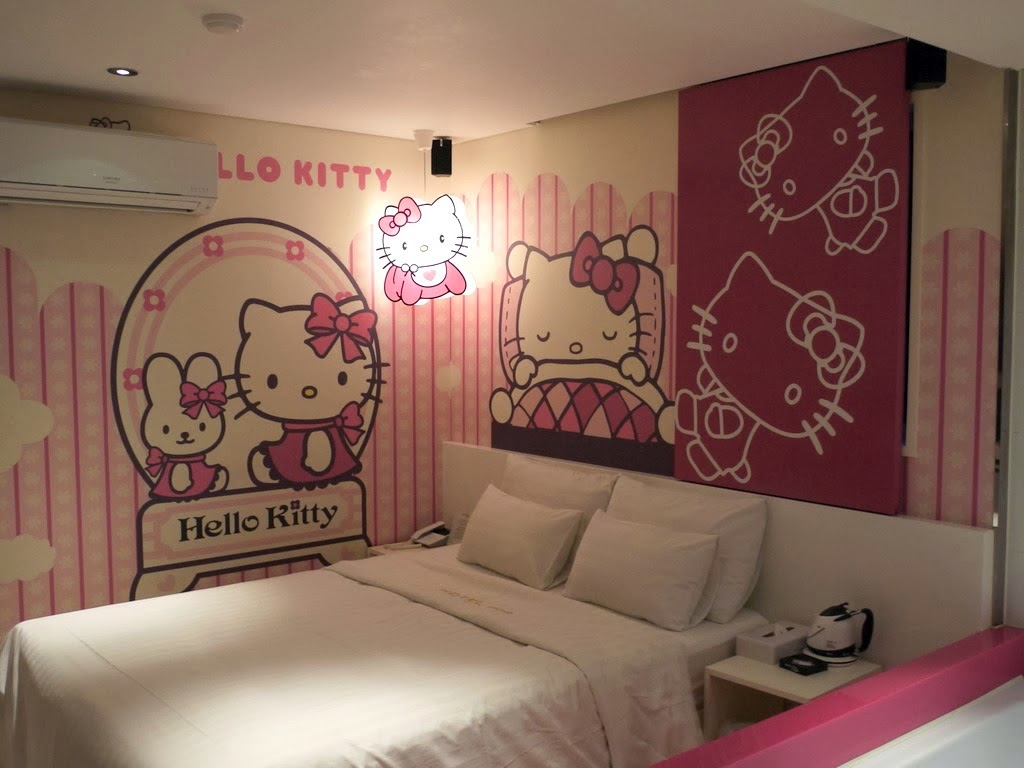 Bedroom Interior Design Hello Kitty Home Inspirations