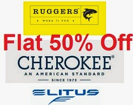 Excalibur | Ruggers | Cherokee | Elitus Brand Men's Clothing: Flat 50% Off @ Flipkart