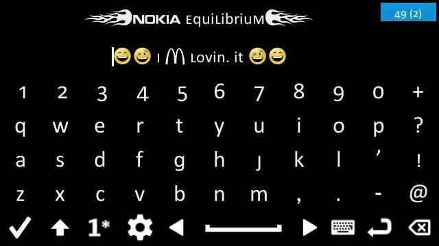 equilibrium cfw