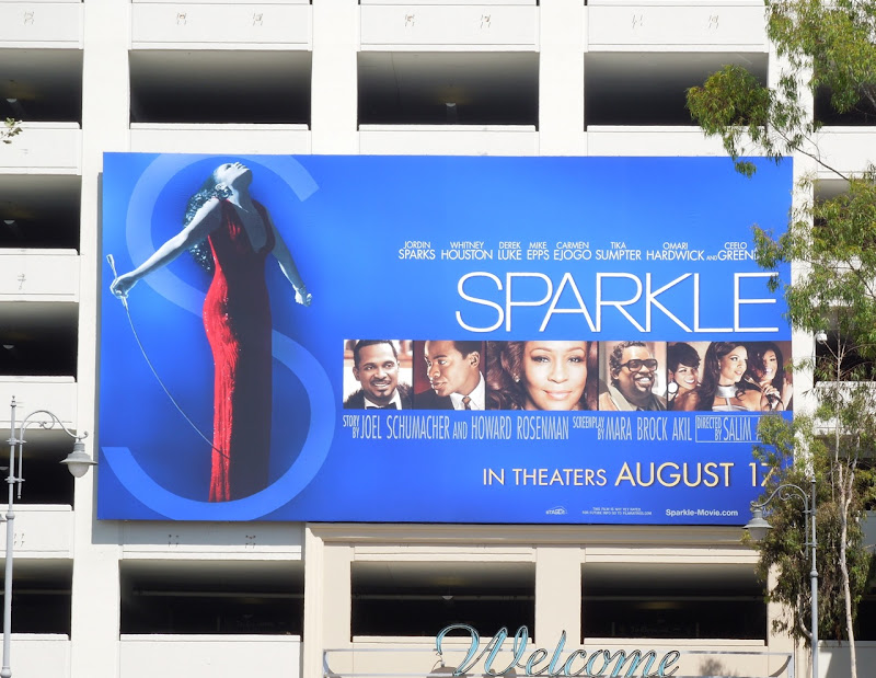Sparkle movie remake billboard