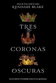 portada de tres coronas oscuras