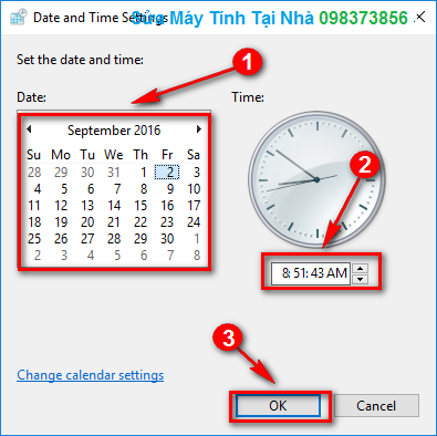 Cách chỉnh thời gian trong Win 10