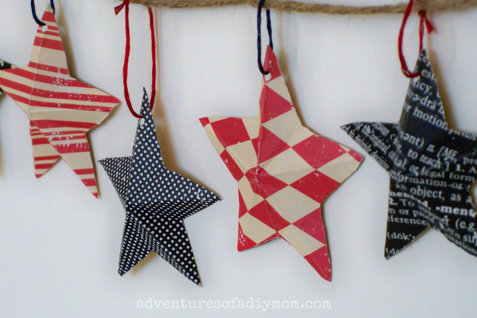 How to Make 3-D Paper Stars