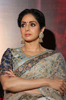 Sri Devi in designer saree stunning beauty at the launch of MOM movie Trailer~  Exclusive 056.JPG