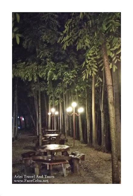 Night shot at the famous Barili's Milk Station